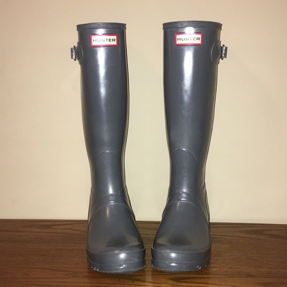 9c153676a3e Women's Gull Grey Hunter boots